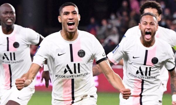 Paris Saint-Germain defeated Metz 2-1